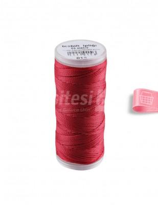 - Tespih İpliği - 15 Kırmızı - 65 m