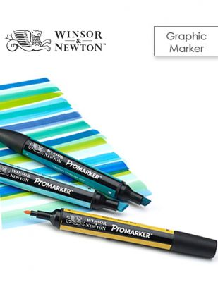 Winsor & Newton Promarker Çift Uçlu Çizim Kalemi