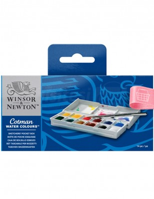 WINSOR & NEWTON - Winsor & Newton Cotman Watercolours - Sulu Boya Seti - 12 Renk
