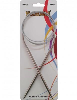 YABALI - Yabalı Çelik Misinalı Şiş - 100 cm - No 5,0