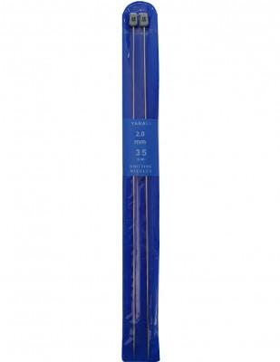 YABALI - Yabalı Örgü Şişi - Titanyum - 35 cm - No 2,0