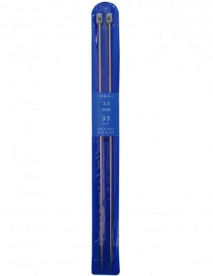 YABALI - Yabalı Örgü Şişi - Titanyum - 35 cm - No 3,5