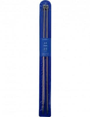 YABALI - Yabalı Örgü Şişi - Titanyum - 35 cm - No 4,0