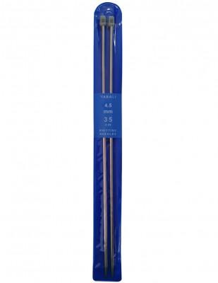 YABALI - Yabalı Örgü Şişi - Titanyum - 35 cm - No 4,5