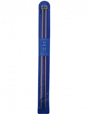 YABALI - Yabalı Örgü Şişi - Titanyum - 35 cm - No 5,0