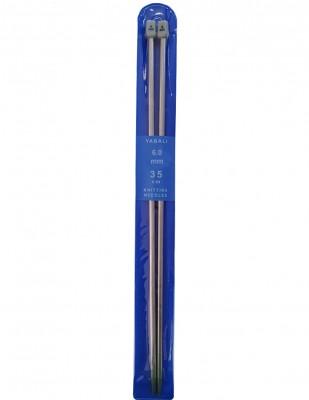 YABALI - Yabalı Örgü Şişi - Titanyum - 35 cm - No 6,0