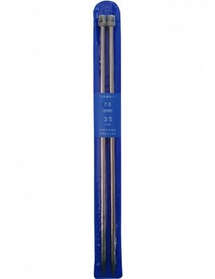 YABALI - Yabalı Örgü Şişi - Titanyum - 35 cm - No 7,0