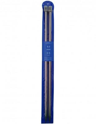 YABALI - Yabalı Örgü Şişi - Titanyum - 35 cm - No 8,0