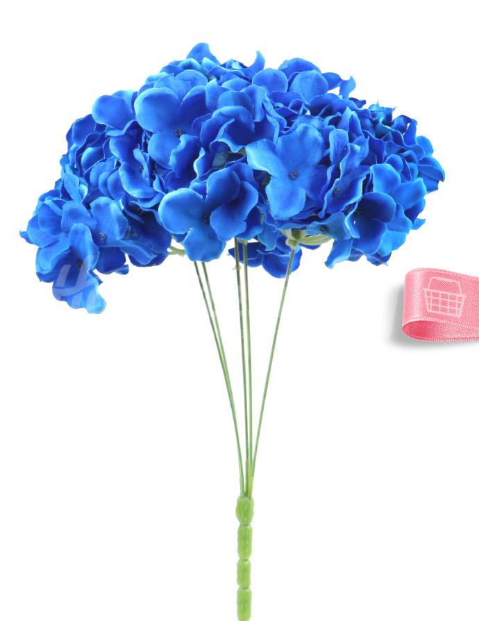 Yapay çiçek Ortanca Saks Mavi Yapay çicekler