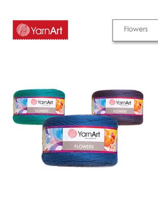 YARNART - Yarnart Flowers El Örgü İplikleri - 250 gr - 1000 m