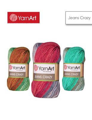 YARNART - Yarnart Jeans Crazy El Örgü İplikleri