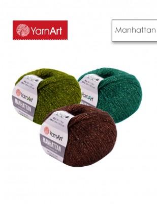 YARNART - Yarnart Manhattan El Örgü İplikleri (1)