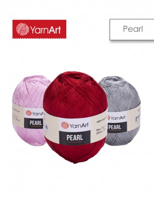YARNART - Yarnart Pearl El Örgü İplikleri (1)