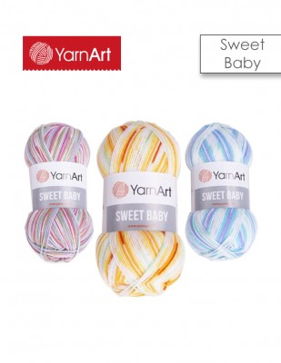 YARNART - Yarnart Sweet Baby El Örgü İplikleri (1)