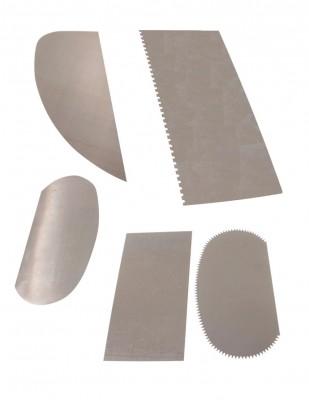 - YK Metal Şekil Tahtası - 5 Adet / Paket