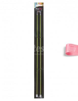 KNITPRO - KnitPro Zing Örgü Şişleri - 35 cm - 3,5 Numara